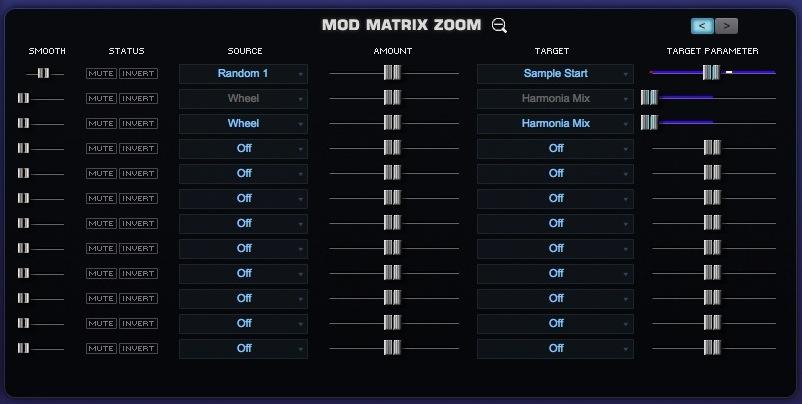 07 La matrice di modulazione