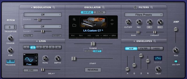 06 La patch del pianoforte in Omnisphere