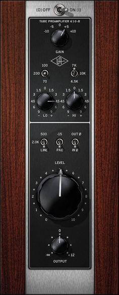 Il plug-in che emula il pre UA 610-B
