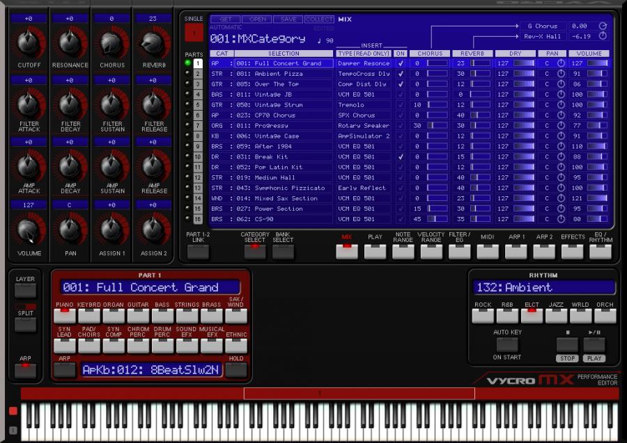 L'MX Performance Editor scaricabile gratuitamente sul sito internet di Vycro