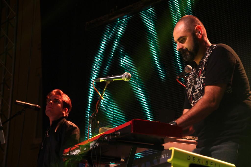 Costanzo Del Pinto e Rocco Camerlengo in azione