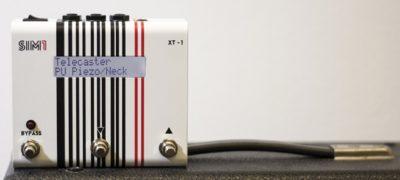 SIM1 XT-1 pedale chitarra elettrica