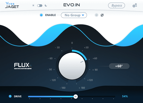 Flux: evo.in plugin audio fx virtual