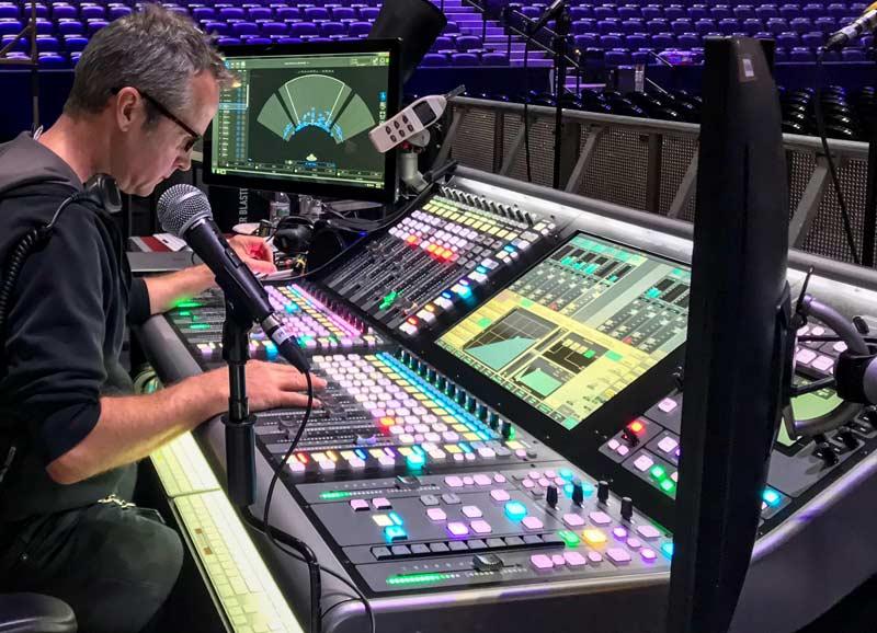 mixer console live concerto