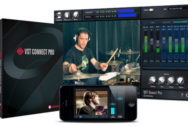 DAW steinberg VST Connect registrazione cloud musica