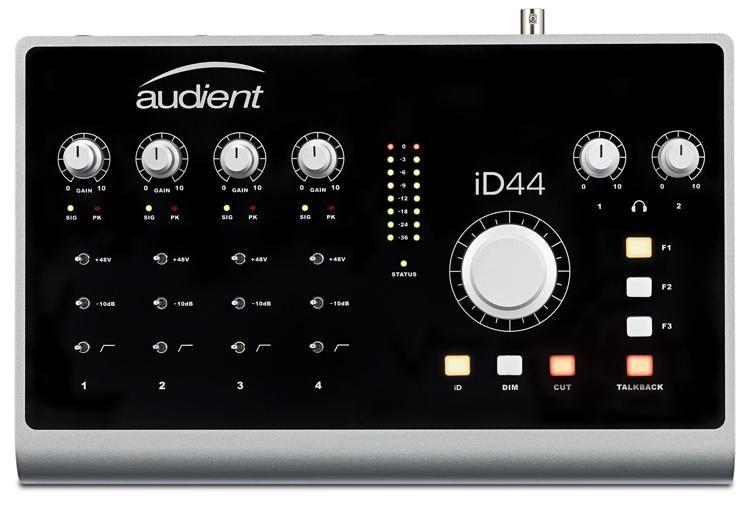 scheda audio interfaccia registrazione