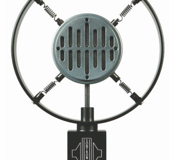 microfono vintage moderno