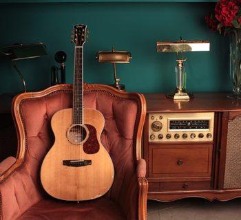 Cort Gold-O8 backline chitarra acustica guitar acoustic