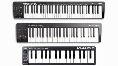 M-Audio Keystation controller MIDI mute