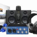 PreSonus AudioBox Studio Ultimate Bundle hardware cuffia interfaccia audio monitor microfono