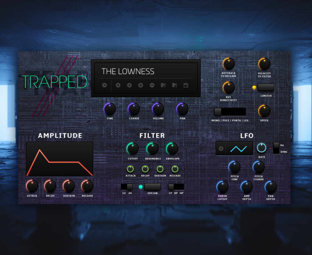 Roland Cloud Trapped virtual instrument synth 808 drum machine