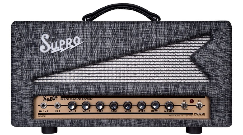 Supro Black Magick Reverb amp head testata chitarra elettrica