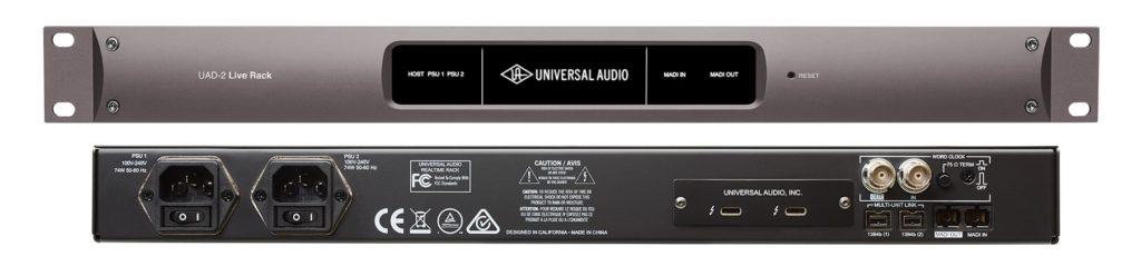 Universal Audio UAD2 Live Rack audio interfaccia