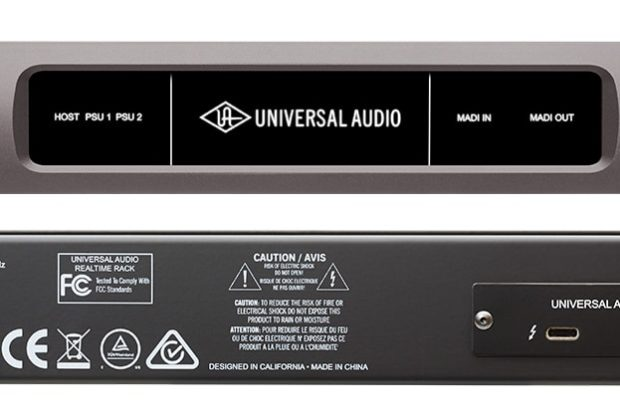 Universal Audio UAD2 Live Rack audio interfaccia