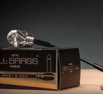 Xotic all brass cavi patch audio chitarra pedali stomp