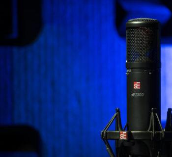 sE Electronics 2300 mic condensatore multi pattern