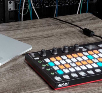 Akai Fire controller midi usb producer