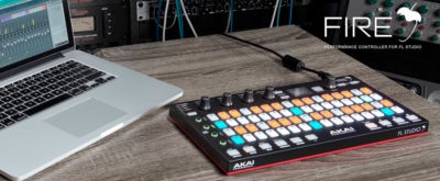 Akai Fire controller midi usb producer