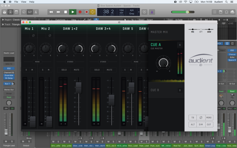 Audient hardware interfaccia update driver software