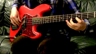 GHS Tape Wound strings bass