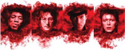 Gik Acoustics Red Hot Rock Icons art panels pannelli acustica record studio