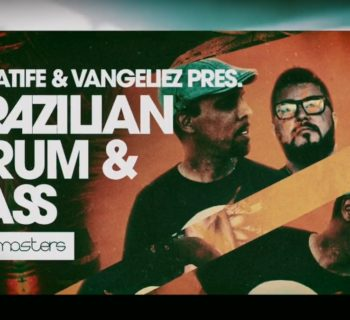 Loopmasters Brazilian Drum & Bass sample loop library libreria