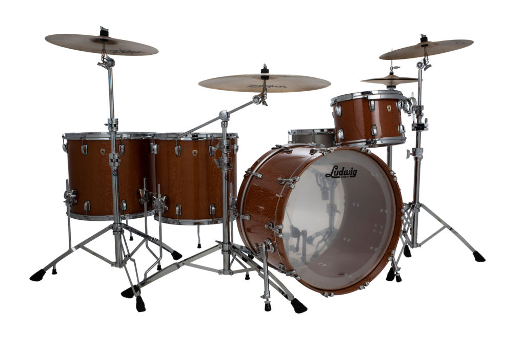 Ludwig Classic Maple Aged Exotic drums batteria kit