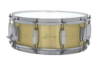 Ludwig Heirloom Brass batteria drums snare