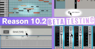 Propellerhead Reason 10.2 update aggiornamento software DAW