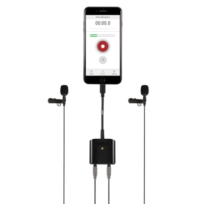 RØDE SC6-L Mobile Interview Kit mic broadcast mobile