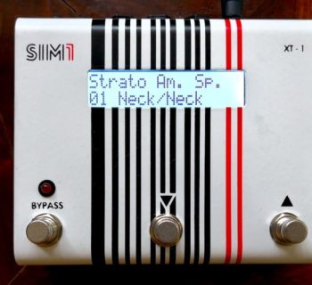 SIM1 XT-1 chitarra elettrica pedalino pedale