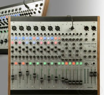 Schertler Prime 13 mixer analog hardware live studio sound audio