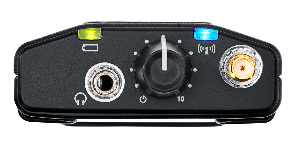 Shure P9RA+ wireless mic analog digital live