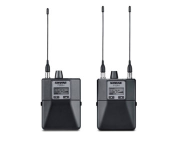 Shure P9RA+ P10R wireless mic analog digital live