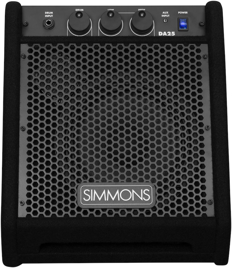 Simmons DA25 monitor audio drums electronic batteria elettronica