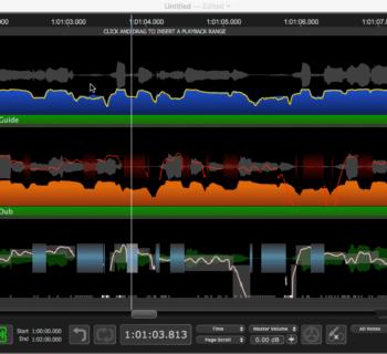 Synchro Arts Revoice Pro 4 software pitch APT plug-in audio