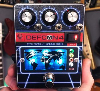 Walrus Defcon4 pedale stomp pre eq boost chitarra guitar