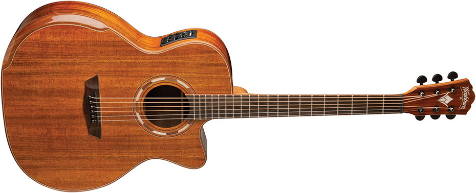Washburn Comfort G55CE KOA acustica chitarra guitar acoustic