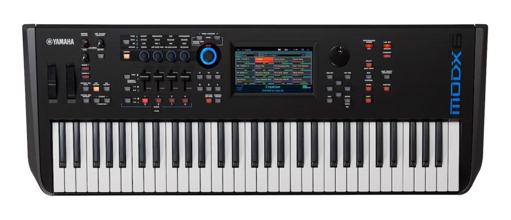 Yamaha MODX sintetizzatore synth keyboard tastiera digital