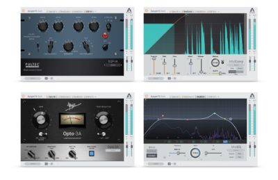 Apogee FX Rack plug-in audio daw fx comp eq vintage modern software