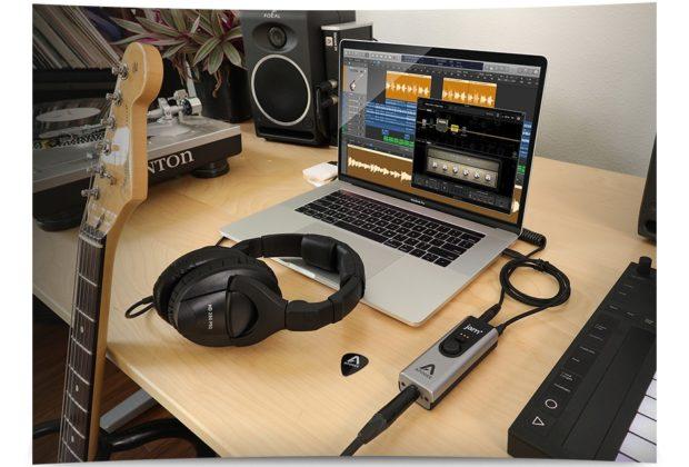 Apogee JAM+ interfaccia audio mobile ios windows mac osx