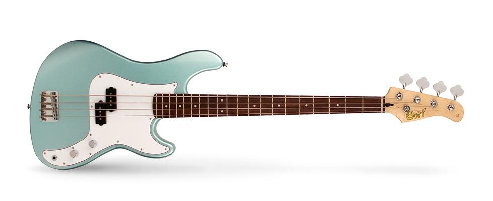 Cort GB54P basso elettrico bass electric backline Seafoam Pearl Green