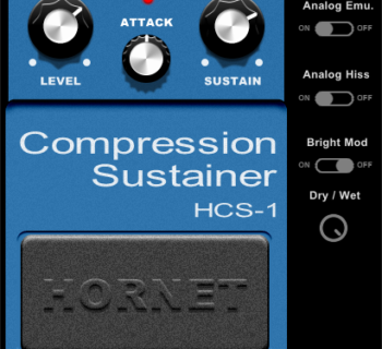 Hornet Plugins HCS 1 plug-in audio