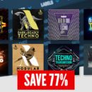 Loopmasters Loopcloud Techno Bundle sample loop library dj producer