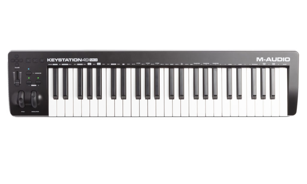 M-Audio Keystation 49 mkIII tastiera controller midi keyboard master