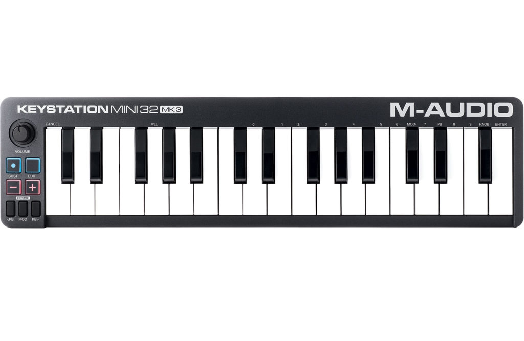 M-Audio Keystation Mini 32 mkIII tastiera controller midi keyboard master