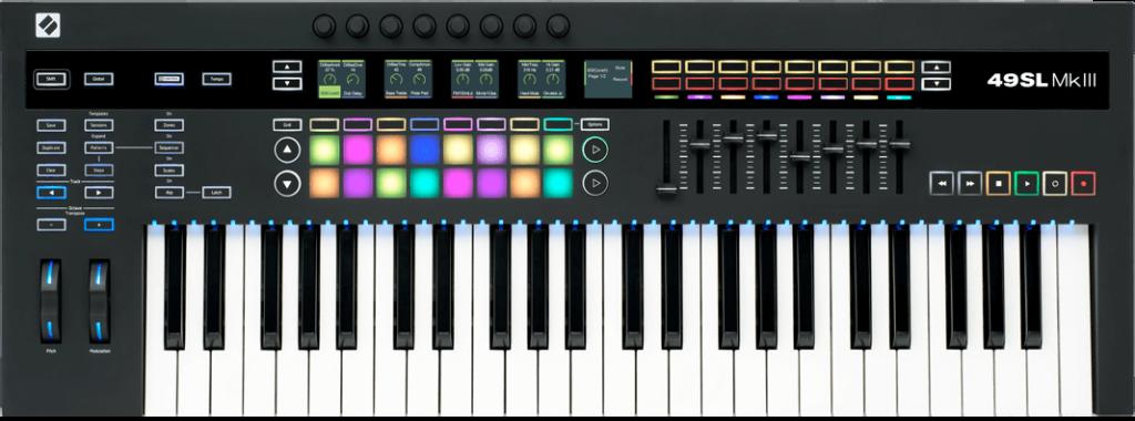 Novation SL 49 mkIII controller tastiera midi keyboard midiware