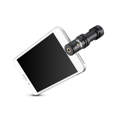 Røde VideoMic Me-L mic mobile ios ipad iphone
