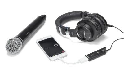 Samson XPD2 wireless usb mic live