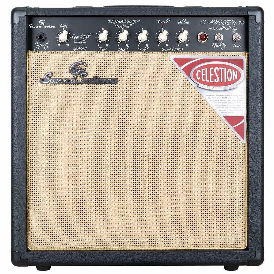 Soundsation Camden-20 tube ampli combo chitarra elettrica